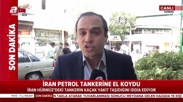 İran, Hürmüz Boğazı'nda petrol tankerine el koydu