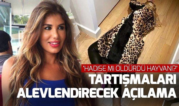 Hadise'nin Instagram hesabındaki kürklü paylaşımına Hatice'den 'destek'