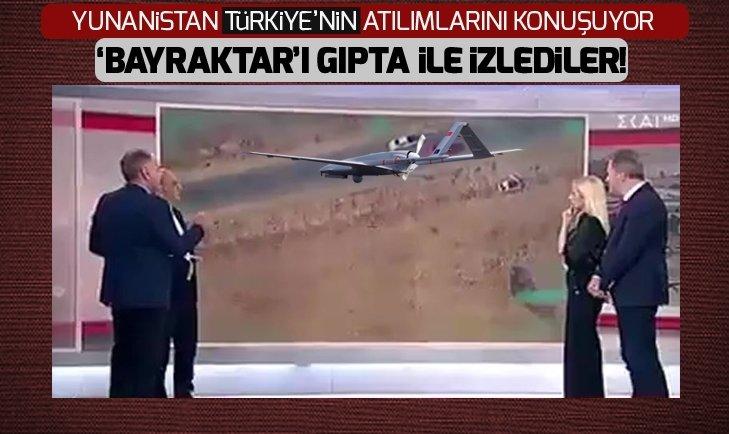 Yunan televizyonunda 'Bayraktar' vurgusu!