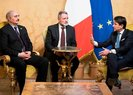 İtalya Başkanı ile görüşen Hafter'e savaşı bırak çağrısı