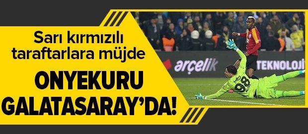 Onyekuru'da son dakika gelişmesi! Galatasaray'a transfer olan Nijeryalı oyuncunun İstanbul'a geliş saati belli oldu