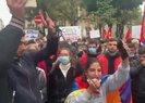Ermeniler Paris'te PKK'lı teröristler ile birlikte gösteri düzenledi