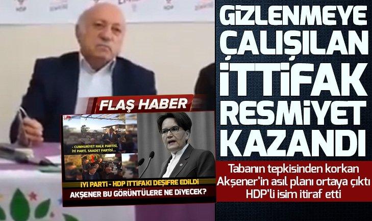 HDP'DEN İYİ PARTİ VE CHP'YE DESTEK AÇIKLAMASI