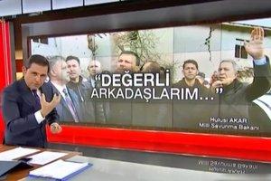 FOX TV spikeri Fatih Portakal canlı yayında kontrolünü kaybetti! Bakanları hedef gösterdi