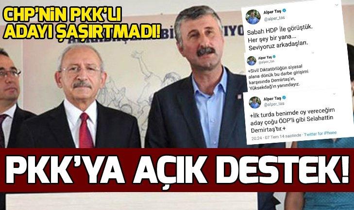 İŞTE CHP'NİN PKK'LI BAŞKAN ADAYI!