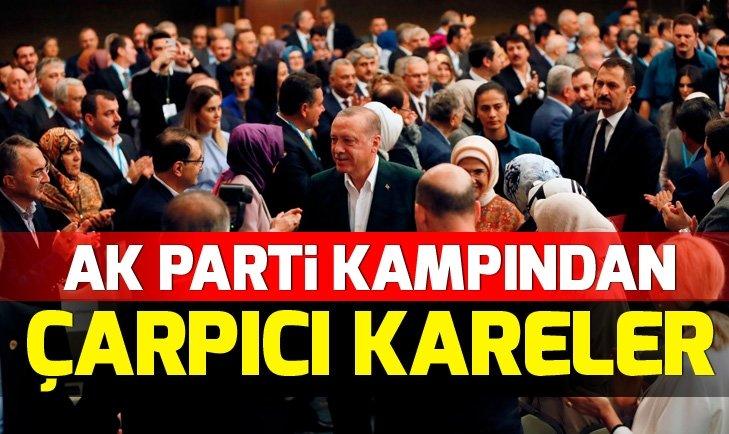 AK PARTİ KIZILCAHAMAM KAMPINDAN ÇARPICI KARELER