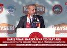 Başkan Recep Tayyip Erdoğan Kayseri'de konuştu