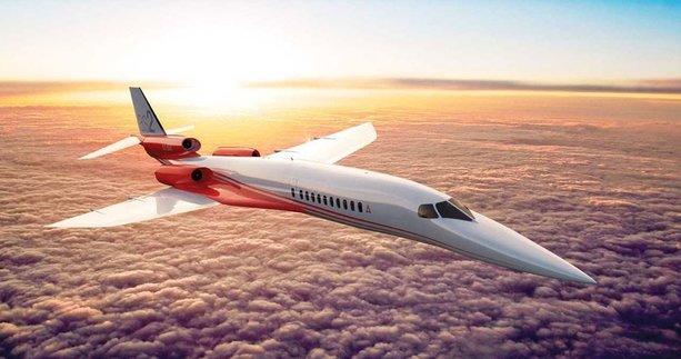 Süpersonik uçakla 9 saatlik yolcuk 3 saate iniyor