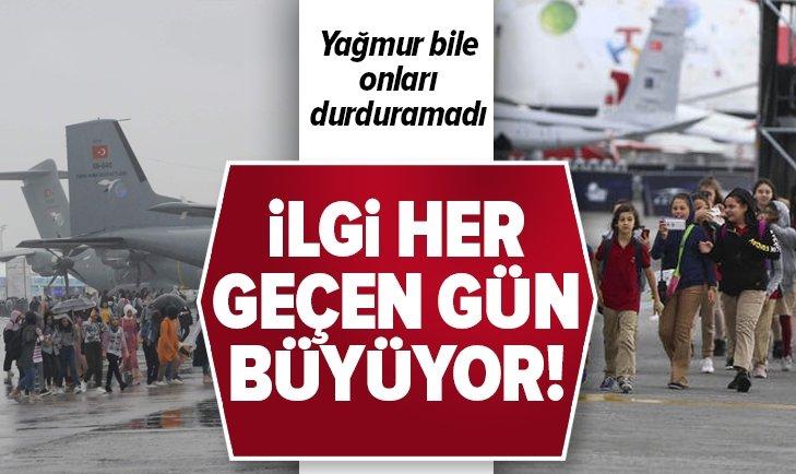 TEKNOFEST'E İLGİ HER GEÇEN GÜN BÜYÜYOR!