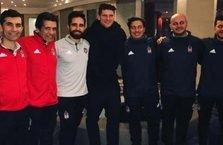 Gomez'den maç öncesi Beşiktaş'a ziyaret