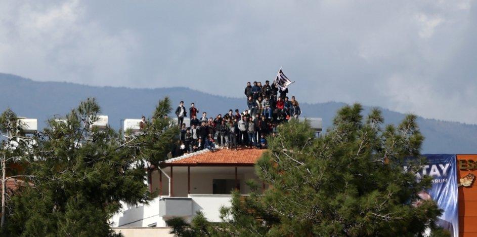 Hatayspor - Galatasaray maçından dikkat çeken kareler