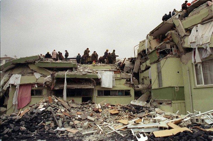 17 Ağustos Marmara Depremi'nin 22. yılı! Acı dolu kareler