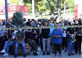 Konya'da intihar girişimi: Film izler gibi izlediler!