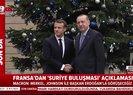 Macron'dan Erdoğan ile görüşeceğiz açıklaması