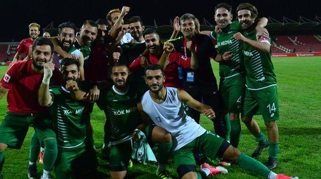 Amatör Lig ekibinden kupada büyük sürpriz!