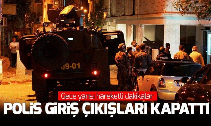 AYDIN'DA HAREKETLİ DAKİKALAR! POLİS GİRİŞ ÇIKIŞLARI KAPATTI
