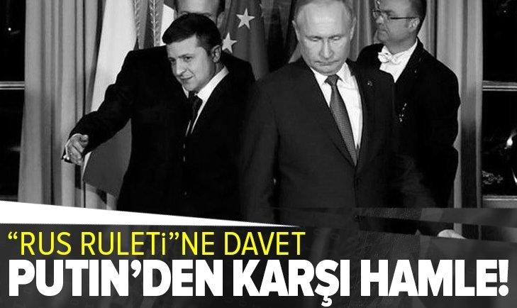 Vladimir Putin'den Ukrayna hamlesi! Zelenskiy'i Moskova'ya davet etti