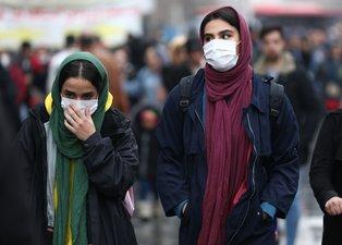 İran'da koronavirüs alarmı! Maskeyle çıktılar...