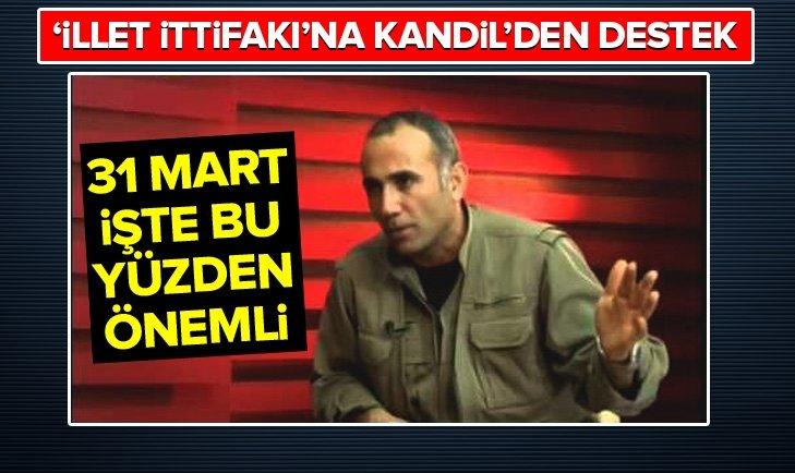 CHP, İyi Parti ve HDP ittifakına Kandil'den destek!