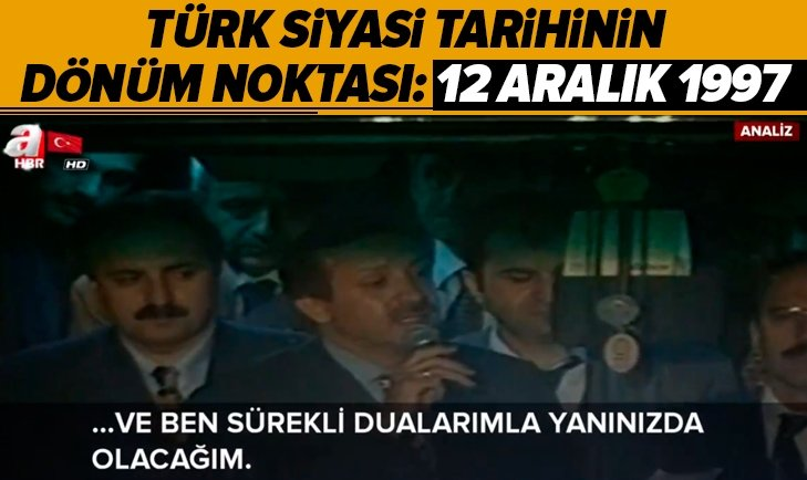 TÜRK SİYASİ TARİHİNİN KIRILMA NOKTASI!