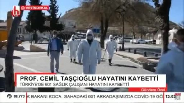Halk TV'den skandal koronavirüs provokasyonu!