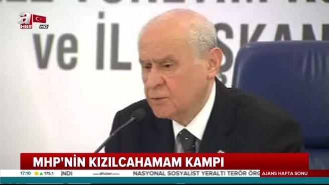 Bahçeli: Cumhurbaşkanı adayımız Recep Tayyip Erdoğan'dır