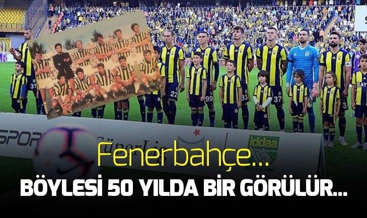 BÖYLESİ 50 YILDA BİR GÖRÜLÜR! FENERBAHÇE...