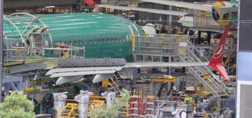 THY'NİN İLK BOEİNG 737 MAX 8 UÇAĞI İLK KEZ GÖRÜNTÜLENDİ