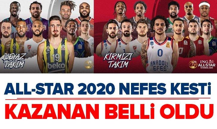 ALL-STAR 2020 MAÇI NEFESLERİ KESTİ!