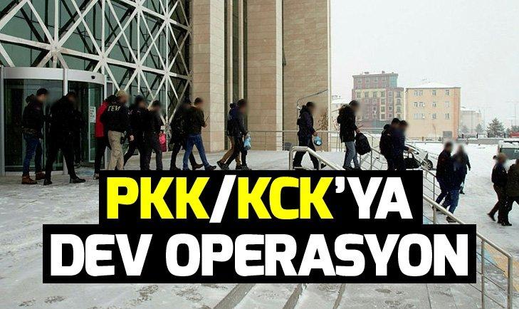 PKK/KCK'ya kritik operasyon
