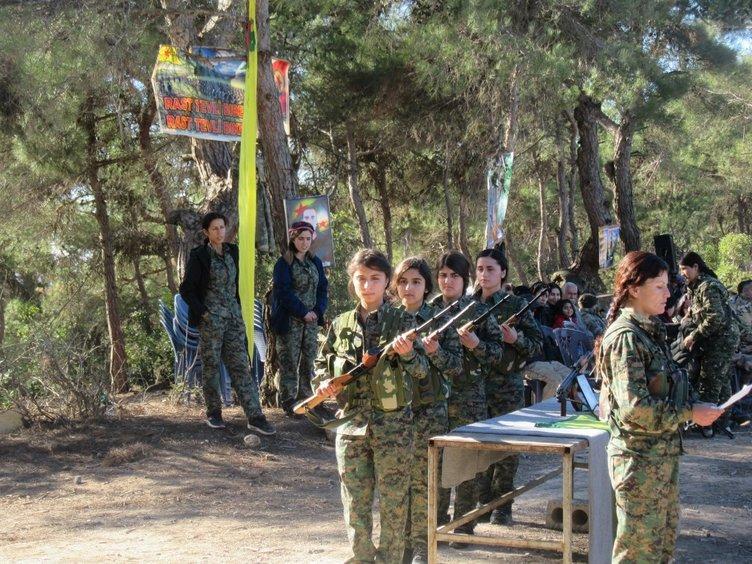 YPG/PKK AFRİN'DE DE ÇOCUKLARI KAÇIRIP SAVAŞA ZORLADI
