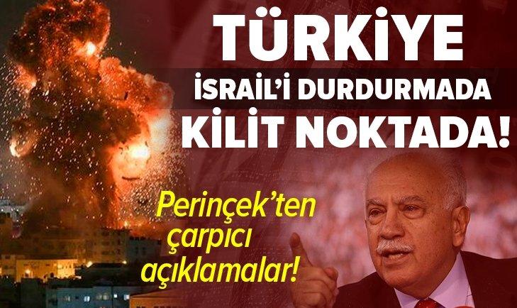 Türkiye ABD-İsrail'i durdurmada kilit noktadadır Doğu Perinçek'ten flaş açıklamalar