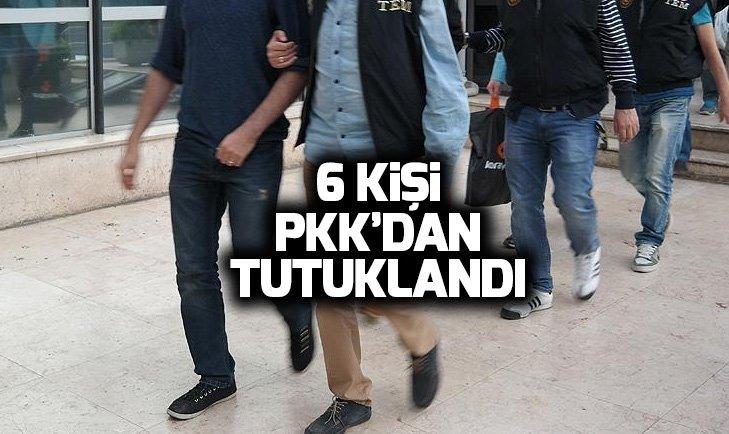 İSTANBUL'DA YAKALANAN PKK ŞÜPHELİLERİNDEN 6'SI TUTUKLANDI