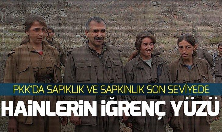 PKK'DA SAPIKLIK VE SAPKINLIK SON SEVİYEDE