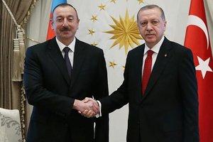 Azerbaycan Cumhurbaşkanı Aliyev'den Başkan Erdoğan'a kutlama