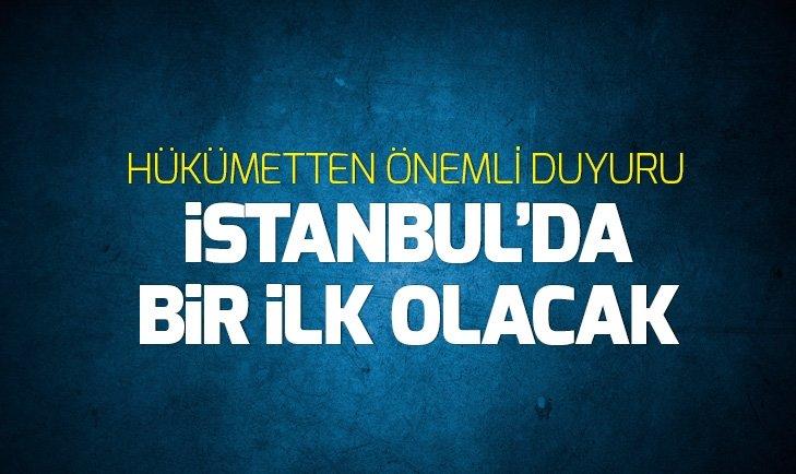 SANAYİ VE TEKNOLOJİ BAKANI VARANK DUYURDU! İSTANBUL'DA BİR İLK GERÇEKLEŞECEK