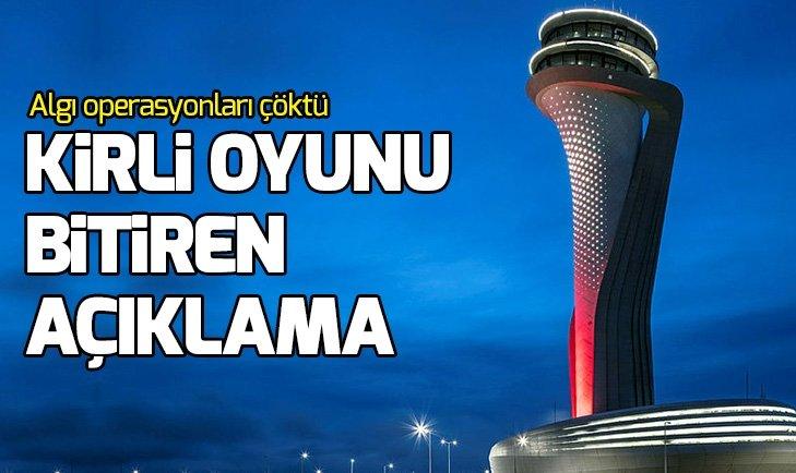 DHMİ, sosyal medyadaki İstanbul Havalimanı iddialarını çürüttü