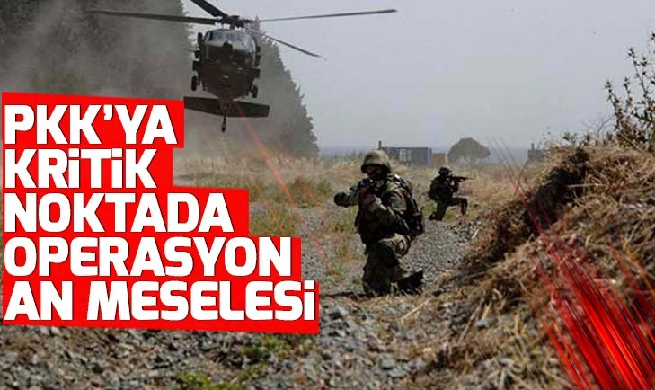 İran da duyurdu! PKK'ya kritik noktada operasyon an meselesi