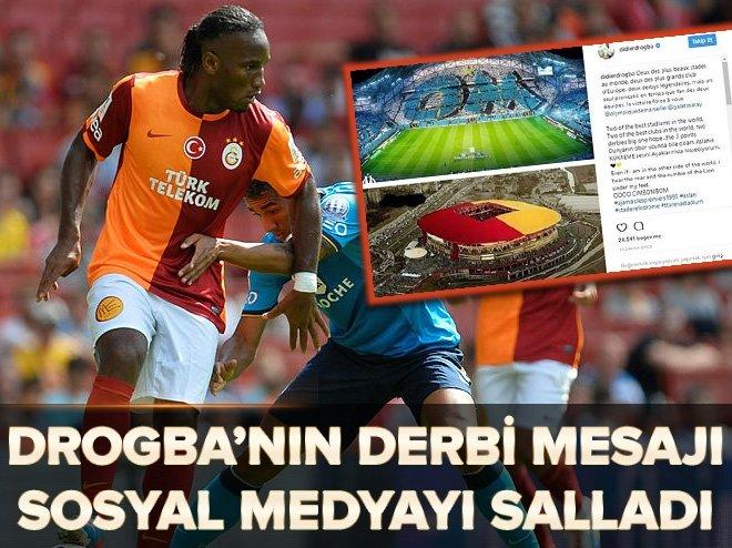 Didier Drogba'dan derbi paylaşımı