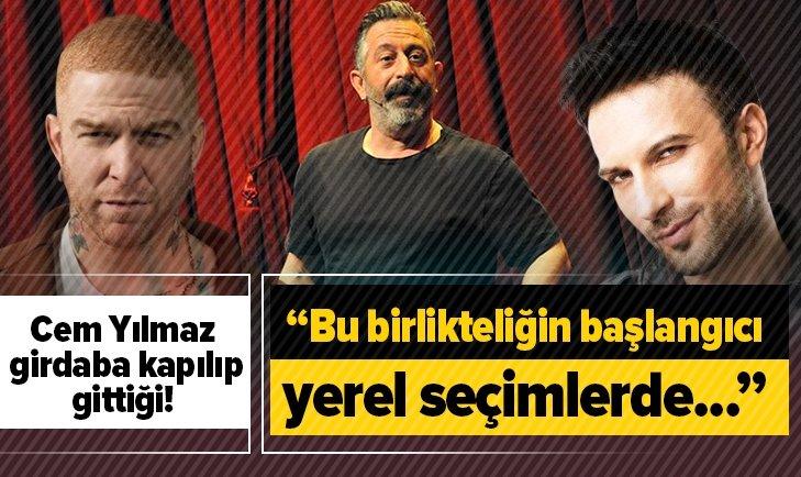 MELİH ALTINOK'TAN CEM YILMAZ'A SERT ELEŞTİRİ