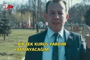 CHP'nin Bolu Belediye Başkanı Tanju Özcan'dan skandal karar! Suriyelilere yardımı kesti