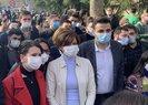 HDP ve CHP'nin teröristleri örgütleyerek başlattığı Boğaziçi Üniversitesi olaylarına destek verdi
