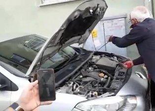 Araba satın aldı içinden öyle bir şey çıktı ki...