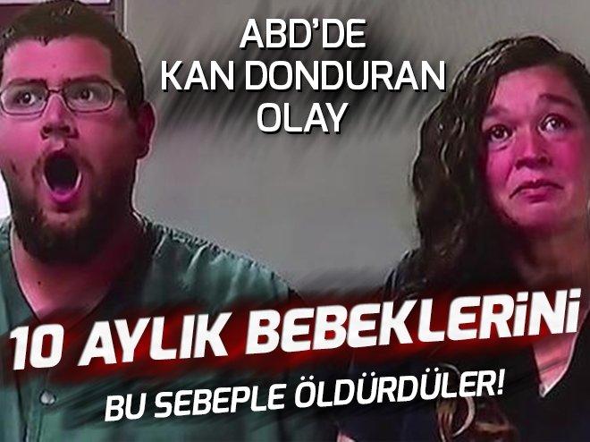 10 AYLIK BEBEKLERİNİ ÖLDÜRDÜLER, 'KADER BÖYLEYMİŞ' DEDİLER...