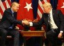 Son dakika: Başkan Erdoğan, Trump ile görüştü! Erdoğan-Trump görüşmesinde neler konuşuldu?
