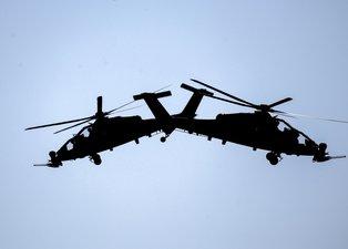 ATAK helikopterleri TEKNOFEST'e damga vurdu!