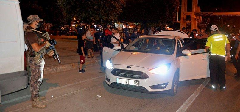 Özel Harekat Polisleri Adana'da uygulama yaptı