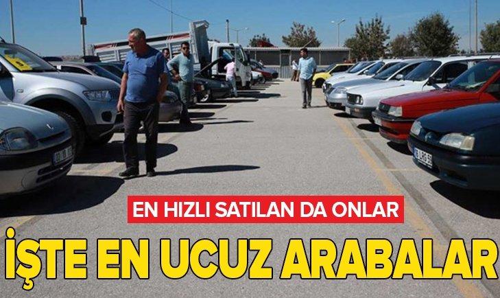 İŞTE EN UCUZ İKİNCİ EL OTOMOBİLLER!