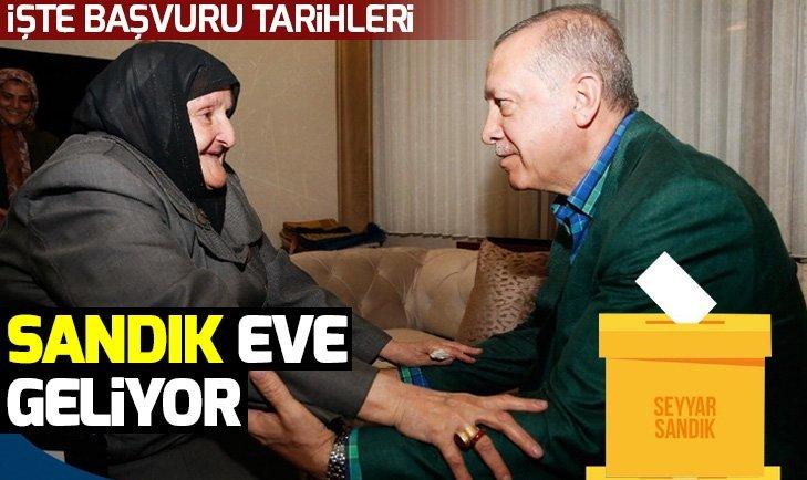 SEYYAR SANDIK EVE GELİYOR