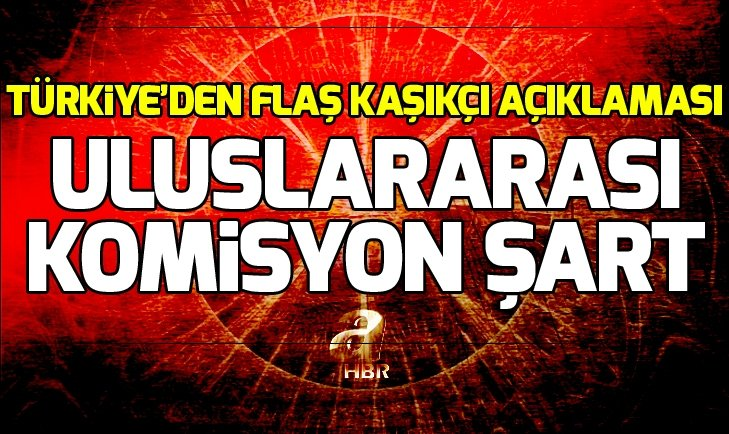 Türkiye'den flaş Kaşıkçı açıklaması!